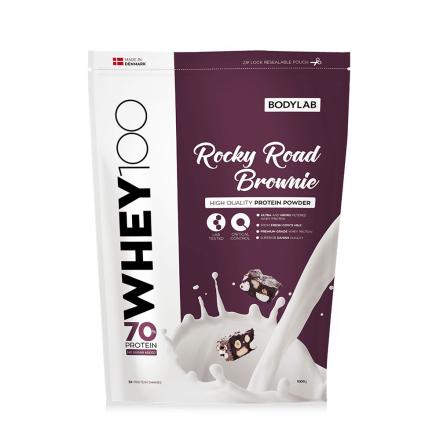 Bodylab Whey 100 (1 kg) - Rocky Road Brownie