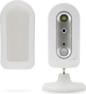 SEC24 trådløst batteridrevet IP-kamera 720P hvid CAM112
