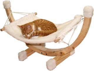 Kerbl hængekøje til katte Siesta hvid 82591