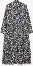 Maxi shirt dress - Blue