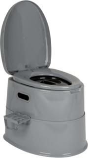 Bo-Camp Portabel toalett 7 L grå