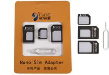 D9 ELEMENT 4-i-1 Nano to Micro / vanlig SIM-kort Adapter Eject Pin