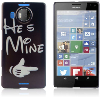 Westergaard Microsoft Lumia 950 XL deksel - Disney Quote He Is Mine