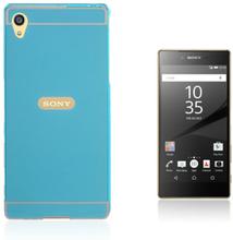 Egeland Sony Xperia Z5 Premium deksel med Støtfanger - Light blå