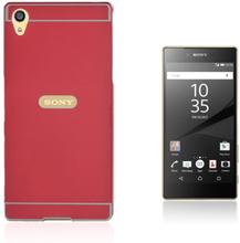 Egeland Sony Xperia Z5 Premium deksel med Støtfanger - Rød
