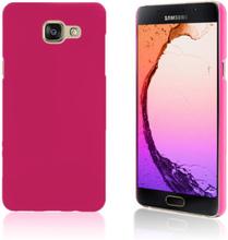 Gummibelagt hard deksel for Samsung Galaxy A5 SM-A510F (2016) - Rosa