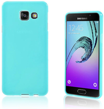 Solid Jelly TPU deksel for Samsung Galaxy A3 SM-A310F (2016) - blå