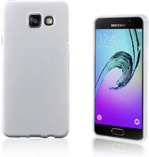 Solid Jelly TPU deksel for Samsung Galaxy A3 SM-A310F (2016) - hvit