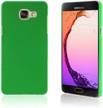Gummibelagt hard deksel for Samsung Galaxy A5 SM-A510F (2016) - grønn