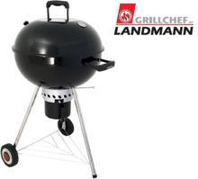 Landmann Klotgrill med askuppsamlare