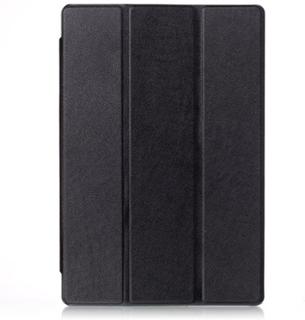 Tri-fold Dell Venue 10 Pro 5055 Leather Case - Black