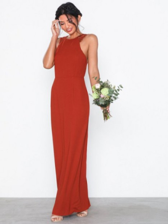 d884f294a48c NLY Eve Lace Back Crepe Gown Maxiklänningar