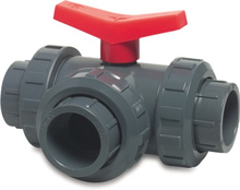 Poolexperten PVC Ventil 3-väg- 50 mm
