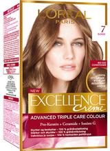 Excellence 7 Blonde Permanent Hårfärg