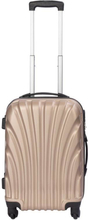 Kabinekuffert - Musling Guld hardcase rejsekuffert - Eksklusiv kuffert