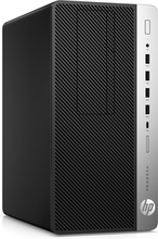 HP ProDesk 600 G4 Microtower med EliteDisplay E243 (23,8'')