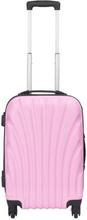 Kabinekuffert - Lyserød hardcase rejsekuffert - Eksklusiv kuffert