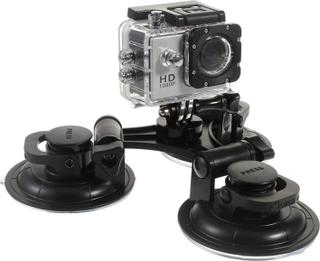 9cm 3 sugekoppholdere for action kameraer