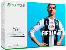 Xbox One S Inkl. FIFA 19 500GB Hvid