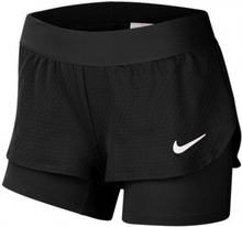 NIKE Court Flex Shorts Girls Black (XL)