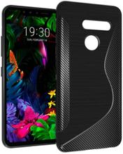 S Line silikon skal LG G8 ThinQ (G820N)