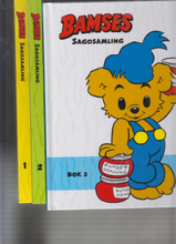 BAMSES SAGOSAMLING BOK 1-3