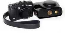 Canon powershot g15,g16 snyggt kamera skydd - svart