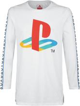 Playstation - Taping -Langermet skjorte - hvit