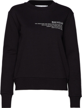 Lesley Dress Sweat-shirt Tröja Svart DESIGNERS, REMIX
