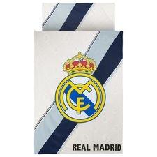 Real Madrid Sengetøj Logo - Hvid/Navy