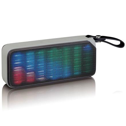 Lenco Bluetooth stereohøyttaler med diskolys BT-191 svart