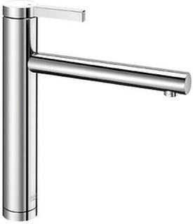 Blanco Köksblandare Linee-Rostfritt stål - Satin polerad