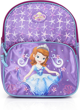 Sofia den første skoletaske/rygsæk, lilla 31x25x9 cm