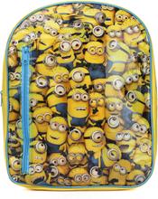Minions skoletaske/rygsæk med indhold, 38x30x10 cm