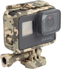 GoPro Hero 5 Black skyddande skal med tumskruv - Öken kamouflage