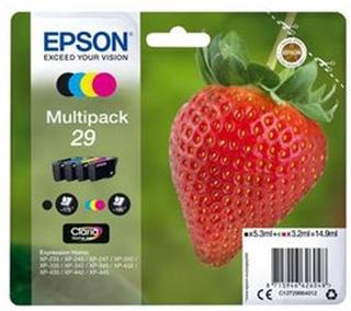 Epson 29 Multipack CMYK Blækpatron - C13T29864012