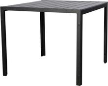 Hacy havebord, Ø90 cm sort/grå.