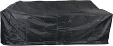 Oppy havetilbehør overtræk, havemøbelsæt 280x215x84 cm grå.