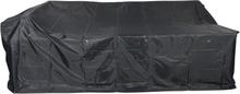 Ossy havetilbehør overtræk, havemøbelsæt 240x190x76 cm grå.