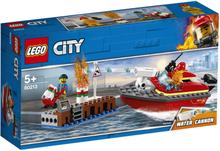 Lego City - Havnebrann 60213