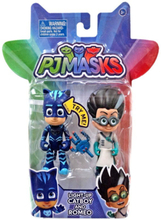Pj Masks Light Up 2 Pack Hero & Villan - Catboy & Romeo