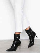 NLY Shoes Patent Stiletto Boot