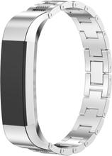 Fitbit Alta klokkereim av rustfritt stål - Sølv