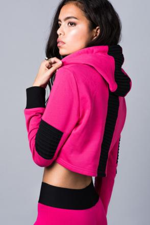 Underground Pink Hoodie (Storlek: XS)