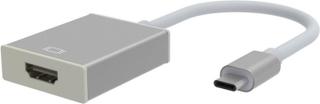 USB typ-C till HDMI 4K HDTV konverterare kabel - Silver
