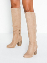 NLY Shoes Block Knee High Boot Knee High