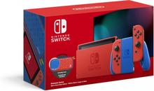 Nintendo Switch Konsoll - Mario Red & Blue Edition