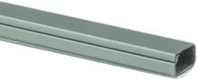 Plasfix 2407-7G Kabelkanal självhäftande, med lock, 2 m 16 x 10 mm, aluminiumfärgad