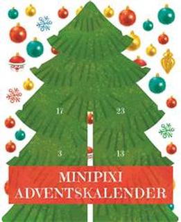 Mini Pixi adventskalender – Gran med klistermärken