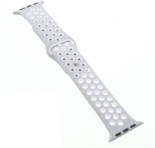 Apple Watch 42mm hollowing silicone watchband - Grey